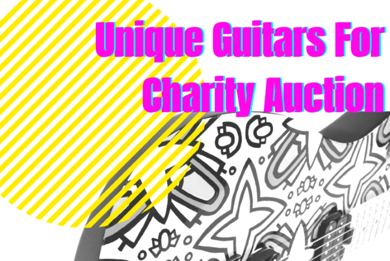 San Diego Artists Create  Guitars For Charity Auction