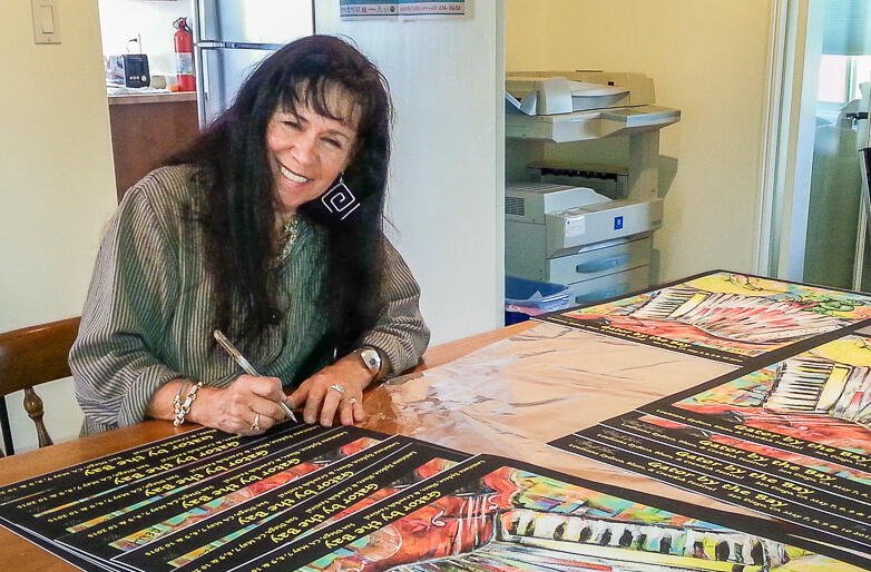 Cheryl Ehlers the unstoppable artist