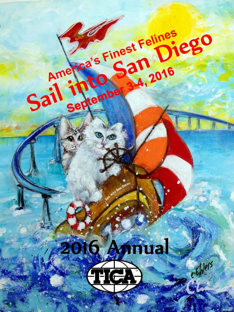 Sail into San Diego by Cheryl Ehlers